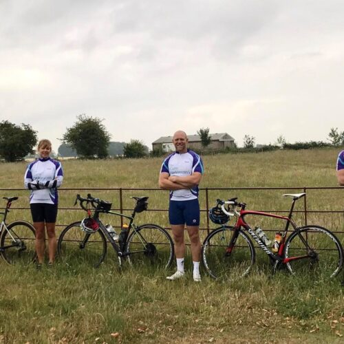 Mike Tindall, Alison Anderson, Will Cook Raid Local Training Ride