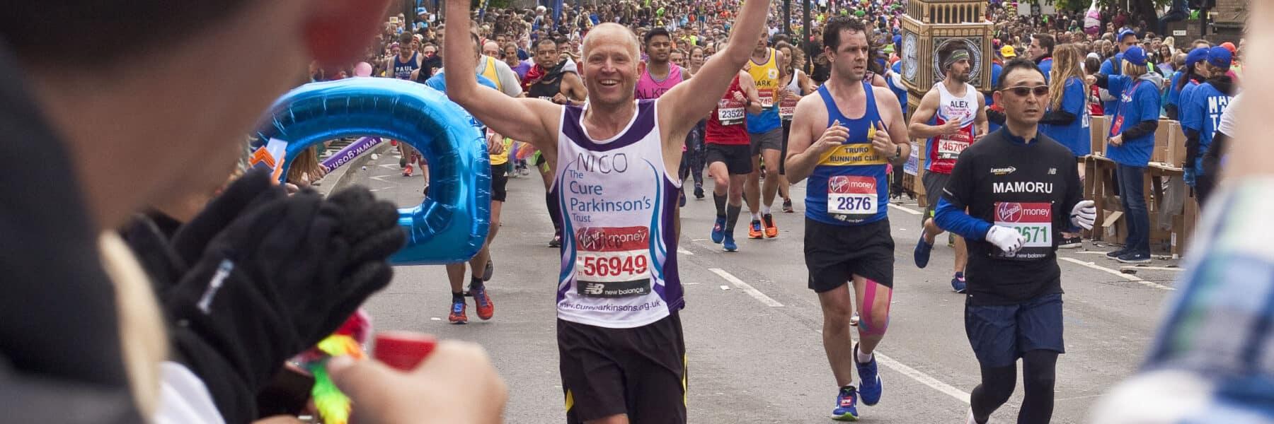Male Runner London Marathon