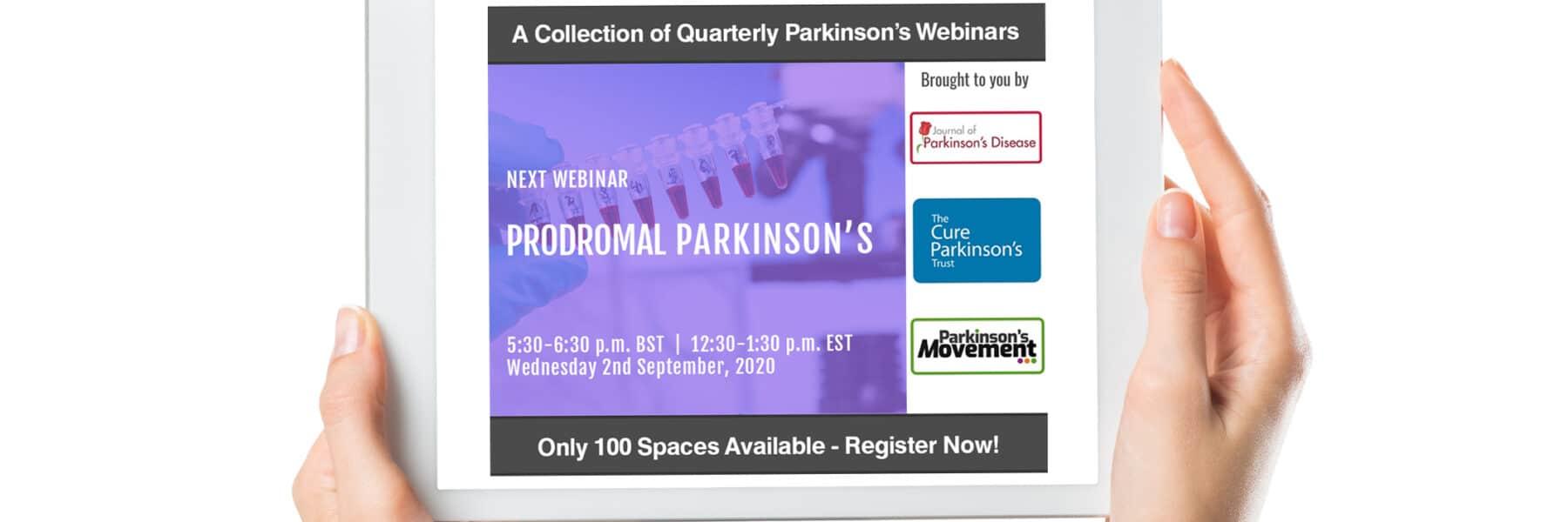 Prodromal Parkinson's