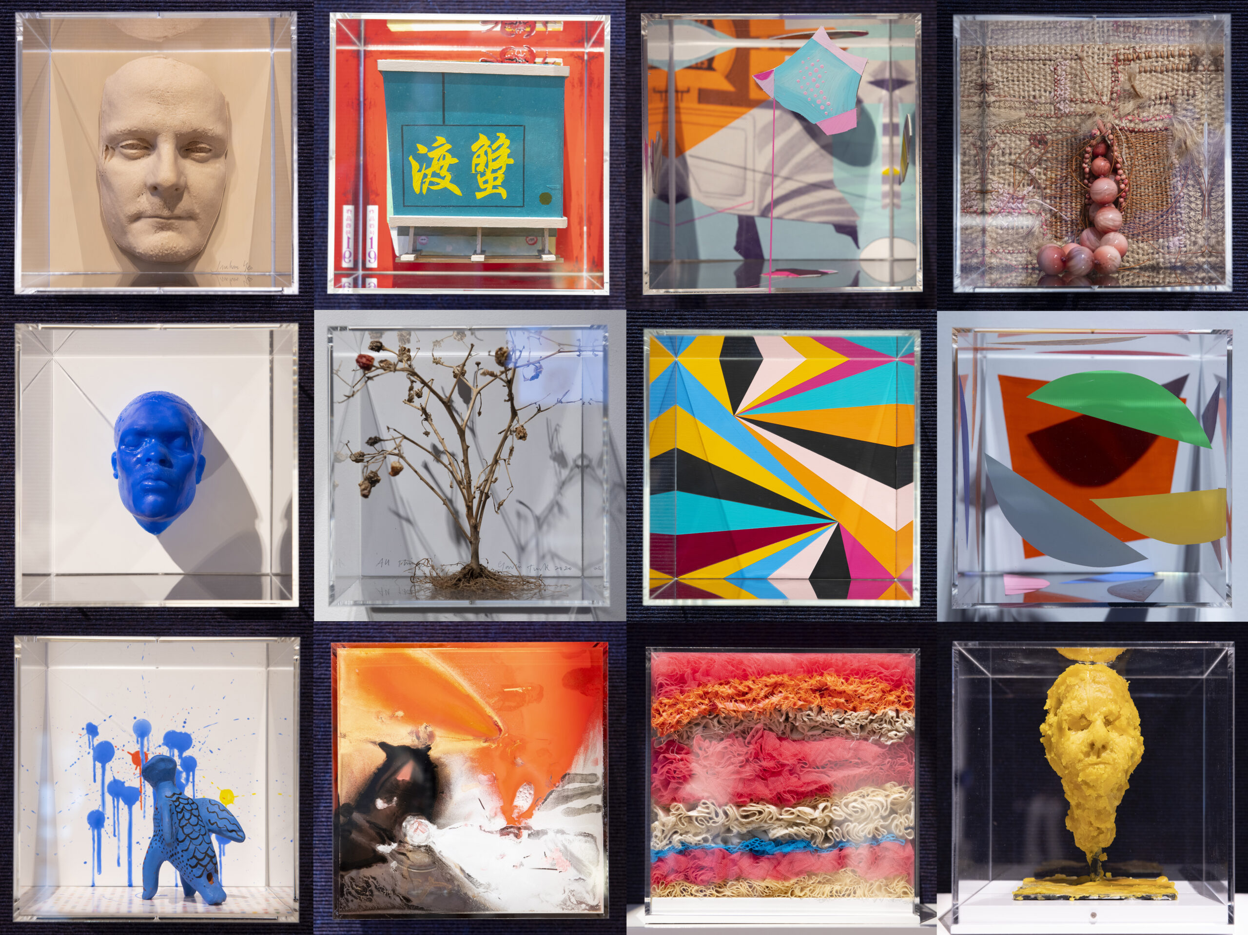 cure³-exhibition-malcolm-parks-artworks-montage