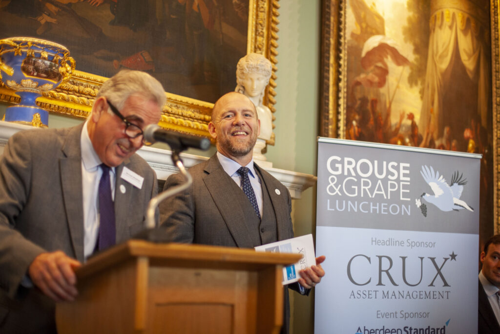 Partner Events - Mike Tindall and Michael Maslinski speaking at Grouse and Grape Lunch